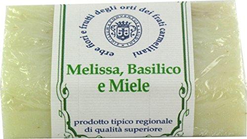 Seifenschale biosavon den Basilikum, Melissa und Miele–100gr (3Stück) (Ferrari Home Decor)