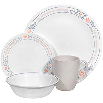 corelle geschirr set apricot grove aus vitrelle glas f r 4. Black Bedroom Furniture Sets. Home Design Ideas