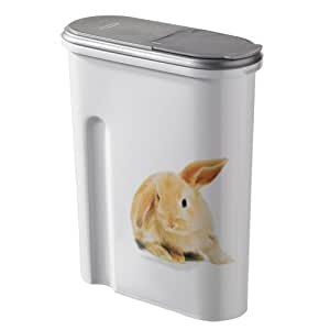 petlife bo te de rangement pour nourriture s che pour lapins hamsters 2 images 1 5 kg. Black Bedroom Furniture Sets. Home Design Ideas