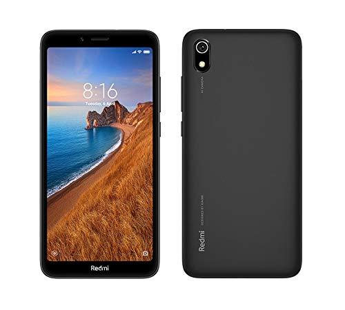 Xiaomi Redmi 7A 32GB Dual-SIM Nero EU [13,8cm (5,45') LCD Display, Android 9.0, 12MP Hauptkamera]
