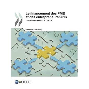 Le Financement Des Pme Et Des Entrepreneurs 2016 Tableau De Bord De L'ocde