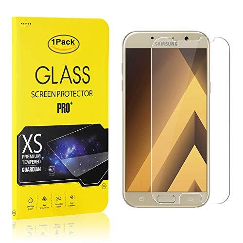 The Grafu Galaxy A3 2017 Vetro Temperato, Alta Trasparenza, Nessuna Bolla, Durezza 9H Pellicola Protettiva in Vetro Temperato per Samsung Galaxy A3 2017, 1 Pezzi