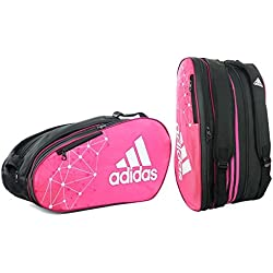 adidas padel Racket Bag Control - Bolsa, color rosa/ blanco