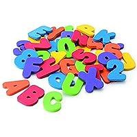 EPRHAY Numbers and Letters Puzzle Bath Toys Foam Bath Alphabet Letters The Best Educational Bath Toys(36PCS)