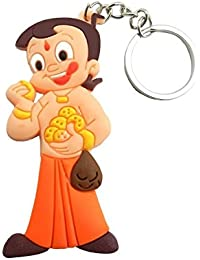 Happie Shopping Chhota Bheem Key Ring/ Rubber Keychain / Key Ring / Key Chain For Car | Bike | Home | Office Keys