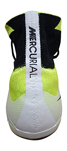 Nike Herren Mercurial Superfly FG Fußballschuhe white black volt total orange 108