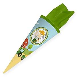 itenga-Geschwisterschultte-35cm-fr-Kinder-Geschenkverpackung-Schultte-klein-Kindergarten-Zuckertte