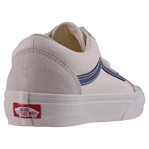 33b0286de20a27 Vans Damen Old Skool Sneakers Elfenbein (Vintage White vintage Indigo Qkk)