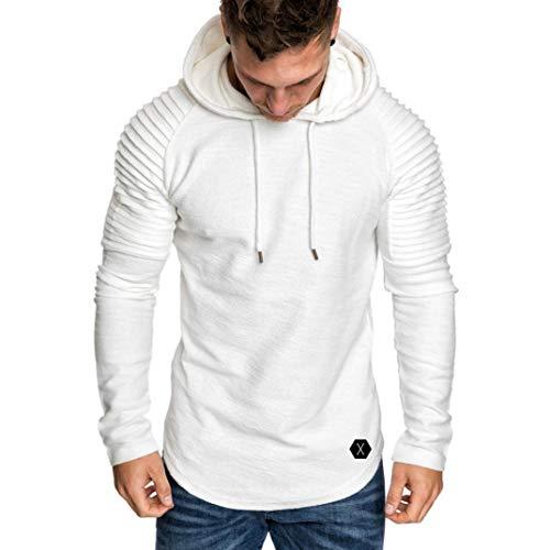 BaZhaHei Herren Kapuzenpullover Langarm Herbst Winter Casual Sweatshirt Hoodies Top Bluse...