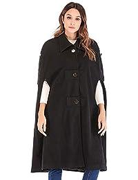 JERFER Femmes Nouveau Manteau Femmes Occasionnels vêtements Manteau Femmes  lâche sans Manches Hiver Bouton Chaud Manteau e3f21bf296b7