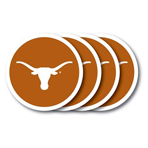Duck House Texas Longhorns Untersetzer (4Pack) Austin Baseball