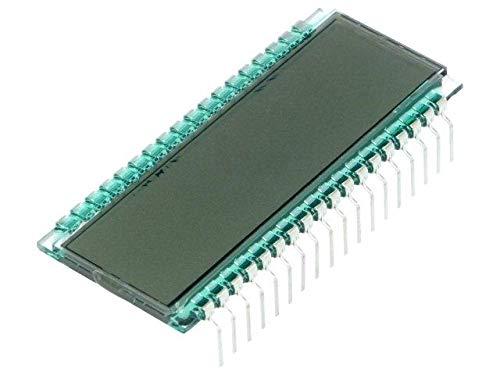 DE301-TU-30/6.35-5 Display LCD digital STN Positive No.of dig 8 Char -