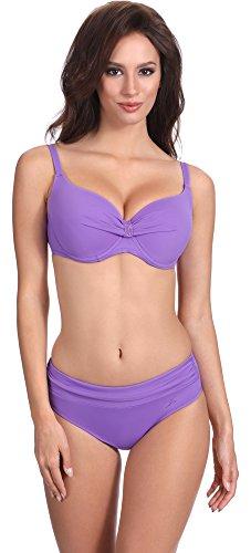 Feba Figurformender Damen Push Up Bikini V2SN1 (Muster-508, Cup 85 C/Unterteil 42)