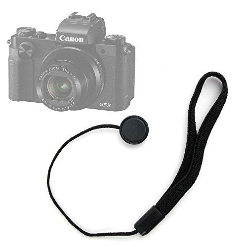 DURAGADGET Correa de mano de tapa / cubierta para lente / objetivo para Cámara Sony DSC-H300 / Sony DSC-H400