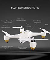 SYMTOP JJPRO X3 RC Drone Quadcopter Racing RTF GPS Brushless WHITE WiFi FPV 1080P Full HD Headless Mode Indoor