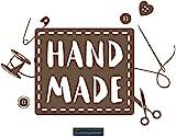 CLICKANDPRINT Aufkleber » Handmade, 260x64,4cm, Bronze Antik Metallic • Dekoaufkleber / Autoaufkleber / Sticker / Decal / Vinyl