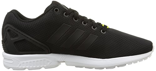 adidas Unisex-Erwachsene Zx Flux Low-Top Schwarz (Black/Black/White)