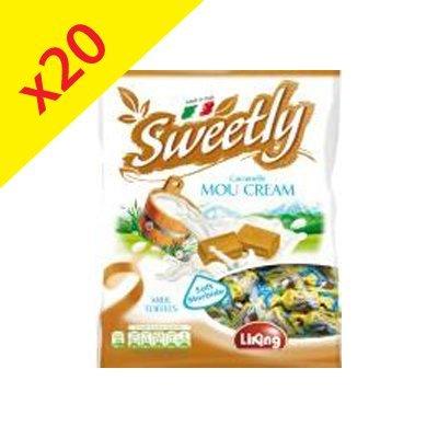 """Colis de """"Mou Cream"""" : caramels mou au lait 450g"""