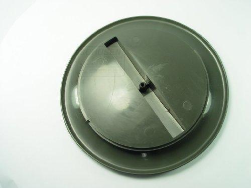 ALLEN Sanitäranlagen und Pumpen Inspektionsdeckel Grau 1er SB Pack, 52824