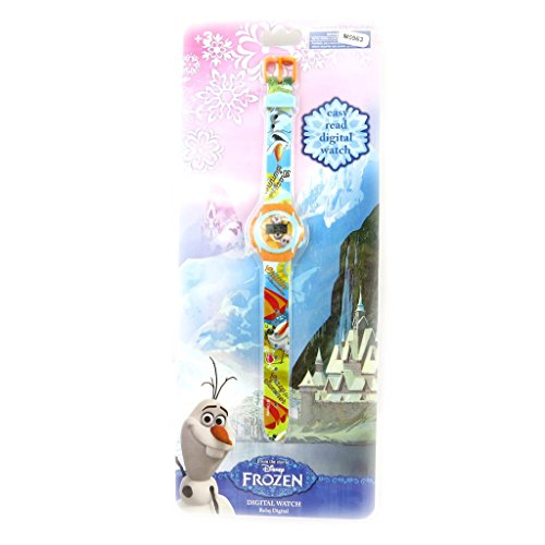 Digitale armbanduhr 'Frozen - Reine Des Neiges'olaf.