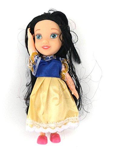 5 Stück MyFairy Minis© Prinzessinnen Puppe mit Puppenkleidung, 11cm - 6