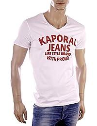 Kaporal - T-shirt - Col V - Manches courtes - Homme
