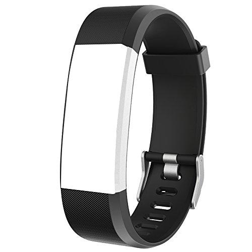 Willful Ersatz Armband Fitness Armband Wasserdicht IP67 (Schwarz)