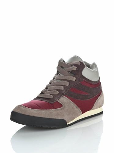 Sneakers - 4430-suecordu BORDEAUX-SAND-DKCHOC