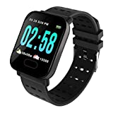 EDNA Health and Fitness Tracker Watch | Activity Tracker | Fitness Band |