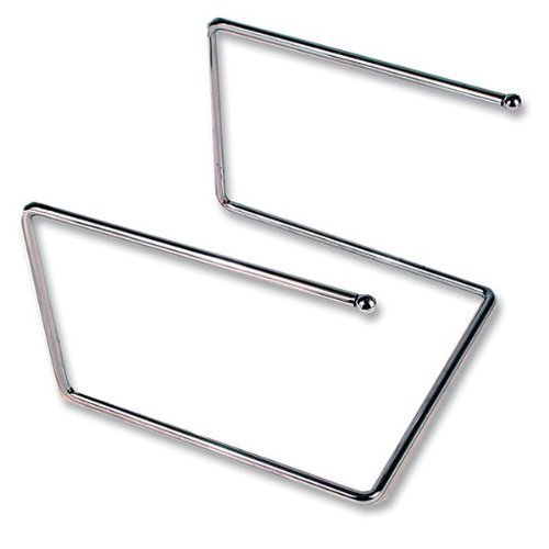 Royal Industries Pizza Tray Stand, Chrome Plated 12'' x 12'' x 7'' High, Silver by Royal Industries Chrome-plated Tray Stand
