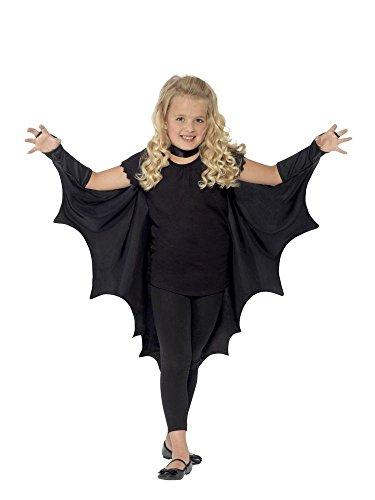 dermaus-Flügel für Kinder Halloween-Kostüm Umhang Mädchen Jungen Cape ()