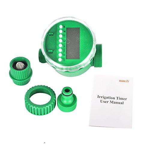 Galleria fotografica Boruit LCD Impermeabile Digitale Programmatore Di Irrigazione Automatico Elettrico Timer Irrigatore Giardino Controllo