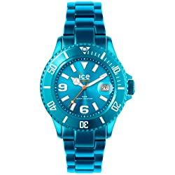 Ice-Watch Unisex Quartz Watch with Turquoise Dial Analogue Display and Turquoise Bracelet AL.TE.U.A.12