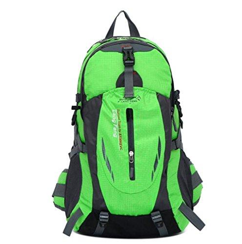 Wmshpeds Zainetto sacco di arrampicata borsa da viaggio equipaggiamento di viaggio di grandi capacità zaino borsa per computer D