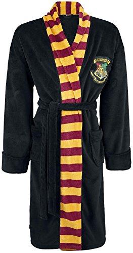 Harry Potter Hogwarts Mens Adult Fleece Bathrobe