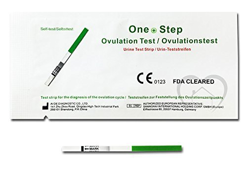 One Step – 40 Eisprung-Tests 20 miu/ml FORMAT 3,5 mm