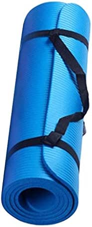 Jimmkey Tappetino Yoga Antiscivolo, 183 cm * 60 cm * 0.4 cm,Addensato,Tappetino per Fitness Senza Ftalati,Eser