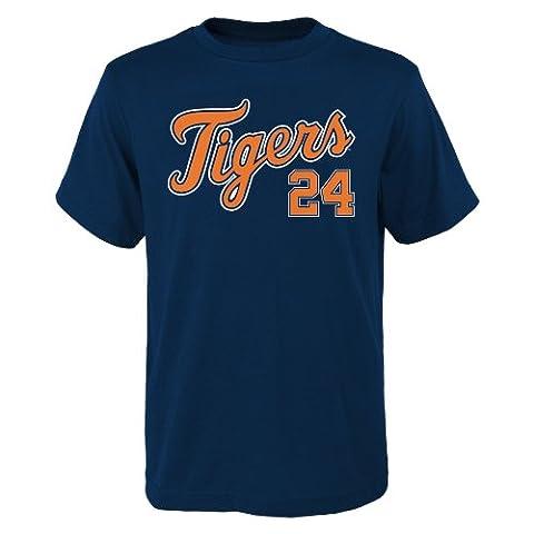 MLB Detroit Tigers Miguel Cabrera Jersey Tee (Navy),