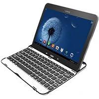 Mondpalast @ Tastiera e Case protettivo ultra sottile Tastiera Bluetooth alluminio QWERTY con funzione di protezione, supporto e presentazione per Samsung Galaxy tab 3 10.1 P5200 P5220 P5210