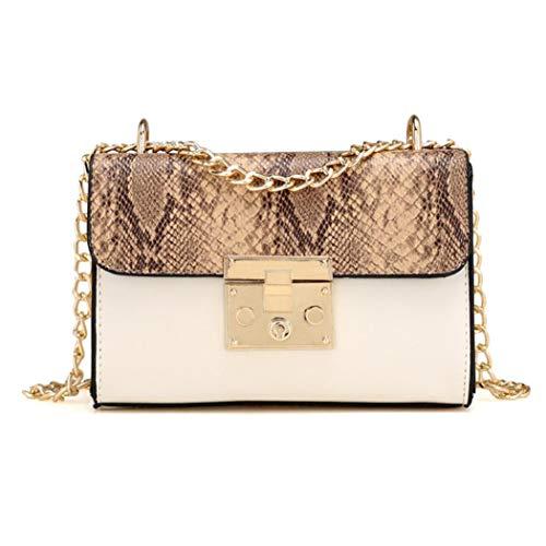 Felicove Damen Schultertasche, Ketten Taschen Schultertaschen Handtaschen Messenger Bags
