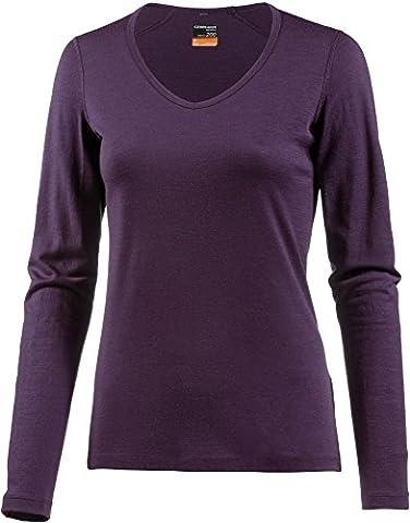 Icebreaker 200 Oasis Longsleeve V Shirt Women - Merinoshirt