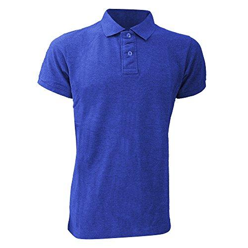 Mantis Superstar Herren Polo-Shirt, Kurzarm Schwarz