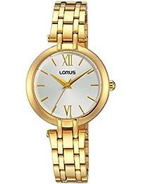 Relojes Lorus Fashion mujer-reloj de cuarzo analógico inoxidable recubierto RG286KX9