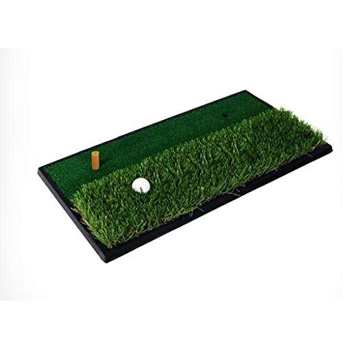 Zfggd Golf Greens Doppel Gras Matten Swing Pads Schneidematten Indoor Praxis Matten 63 * 33 cm
