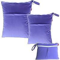 Damero 3pcs Dry Bag pacchetto Wet per pannolini di stoffa