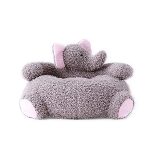 ZL-Sillón puff sofá Perezoso Silla Mono Linda para Animales Sofá Elefante Asiento para niños (Color : A)