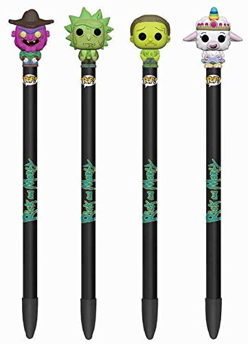 FunKo Rick and Morty Pop! Homewares Pens with Toppers Display Series 2 (16) (Pops Display Funko)