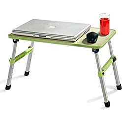 Unique Gadget Multi-Purpose Color Foldable Wooden Study Table , Bed Table