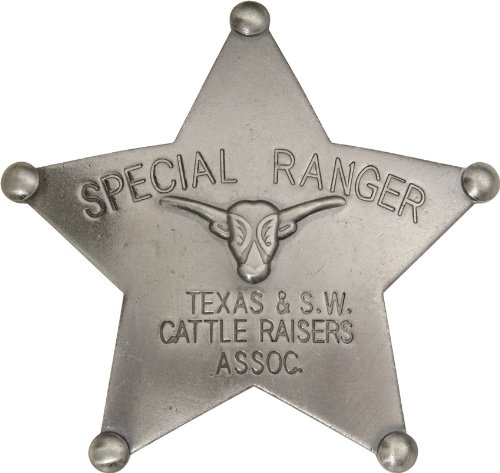 Badges of the Old West-