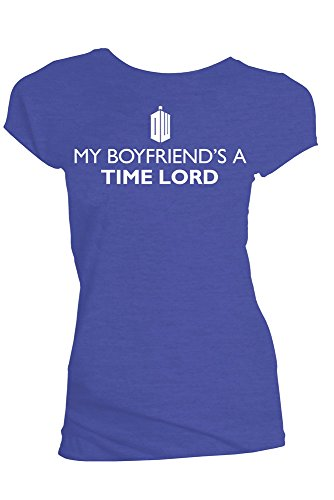 Doctor Who My fidanzati A Time Lord Juniors Blu T-Shirt